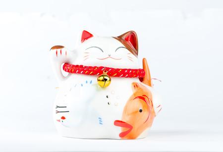 neko: Maneki Neko, Japanese Welcoming Cat, Lucky Cat, Money cat.
