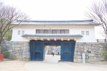 osakajapan february 2 2016 traditional door into osaka castle osaka - Traditional Castle 2016