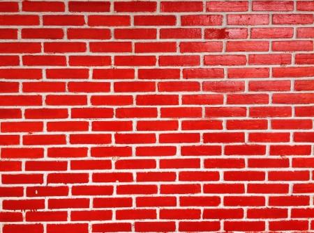 floo: Red brick wall Stock Photo