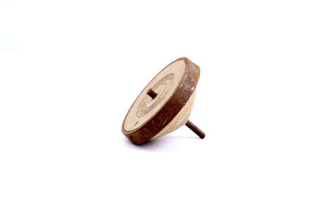 old toys: Spinning top ,old toys,retro style
