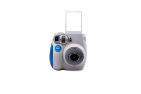 mini polaroid camera with print