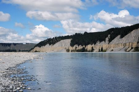 river view, South Island of New Zealand