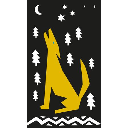 howl: Night lone wolf