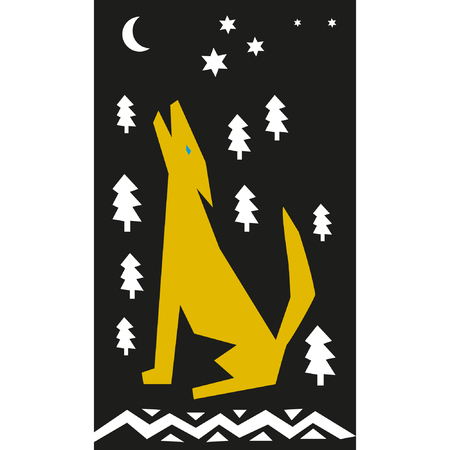 afterglow: Night lone wolf