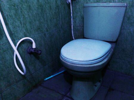 Toilet Commode.Western Commode Toilet Eddy Dual Flush Water Saving Toilets.Eddy Dual Flush Bathroom Commode.Toilet in Bathroom.Toilet bowl in modern bathroom interior. Kho ảnh