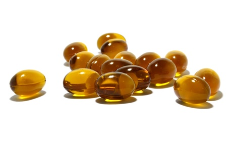Fish oil Stock Photo