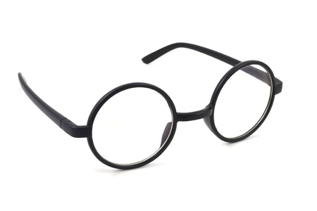 eyeglasses on a white background Stock Photo