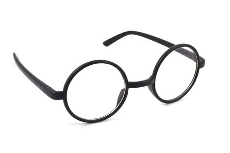 eyeglasses on a white background Stock Photo