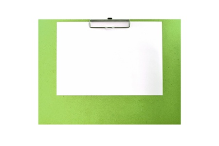 art board on white background