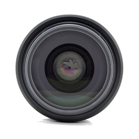 lens for the camera on a white background photo
