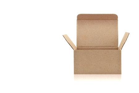 paper box on white background Stock Photo - 13529555