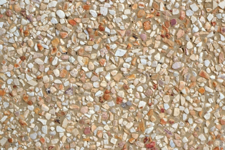 closeup of a stone wall photo
