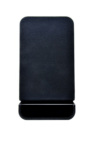 black speaker on white background Stock Photo - 13790690
