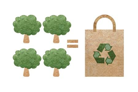 comparison of tree paper production photo