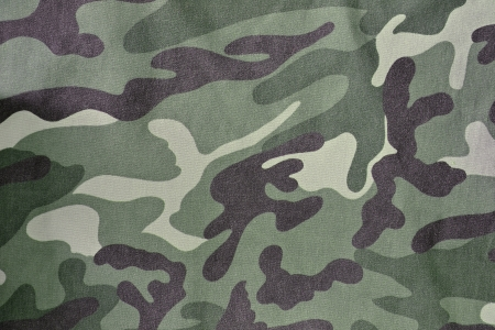 closeup of military uniform surface photo