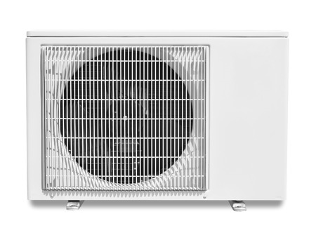 air conditioning compressor isolated on white