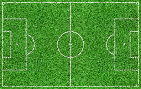 Texturierter Gras Fußballplatz, Fußballplatz
