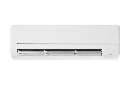 air conditioner machine isolated on white background