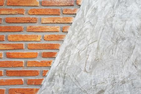 closeup of brick wall background  texture, loft style