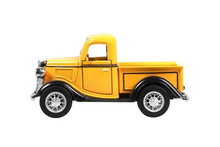 pickup truck car isolated on white background