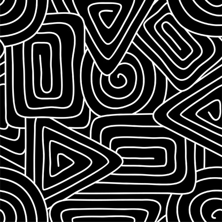 Geometrical seamless pattern Ilustracja