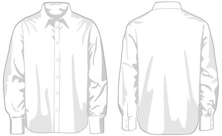 Shirt. Vector illustration