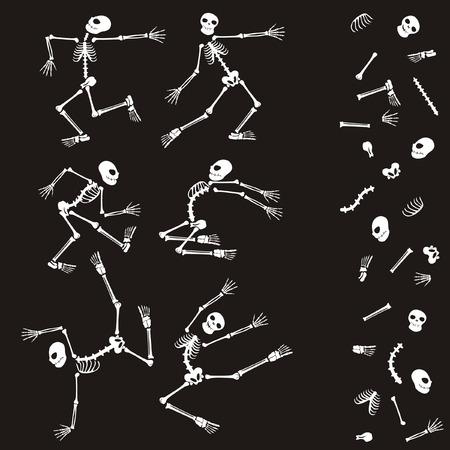 Make your skeleton Stock Vector - 6222582