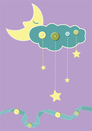 Child card. Vector Stock Vector - 6222596