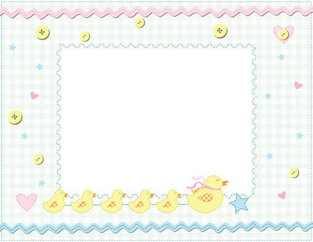 Child photo framework. Vector Stock Vector - 6222599