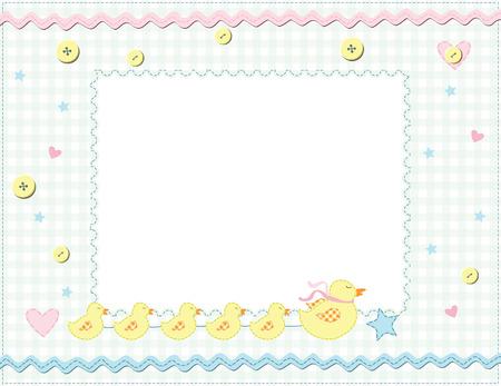 Child photo framework. Vector Stock Vector - 6222599