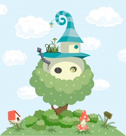 Fairy tale house Stock Photo - 7069201