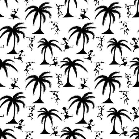 African seamless pattern  photo