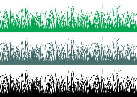 Seamless grass pattern. Stock Vector - 7675178