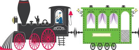 Train. Vector illustration Illustration