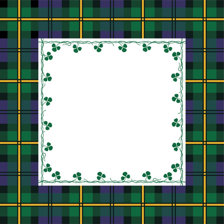 scottish: Tartan frame