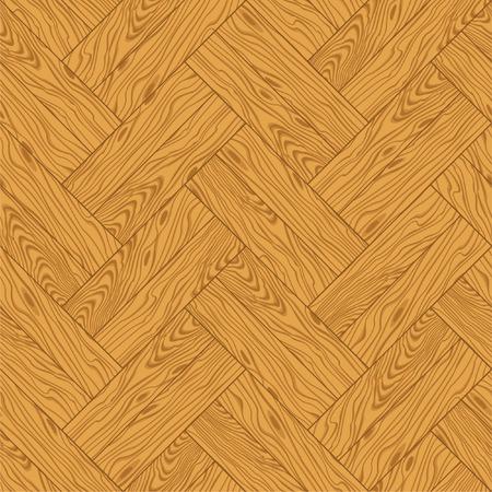 Natural wooden parquet texture. Seamless pattern Vector