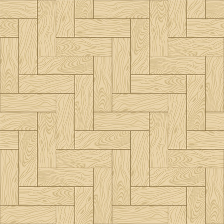 Natural wooden parquet texture. Seamless pattern.  illustration Vector