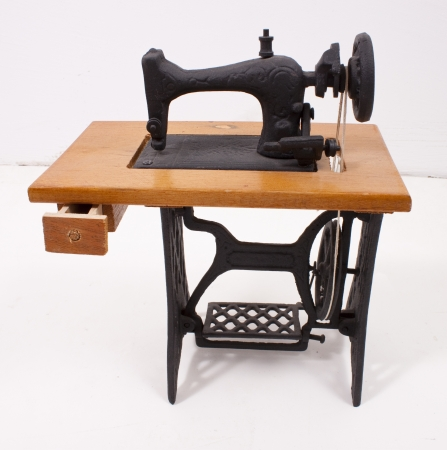 The old sewing machine photo