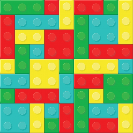 Construction blocks (removable pieces).  Stock Vector - 14557531