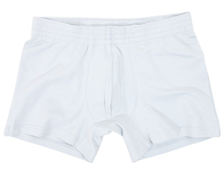 outwear: Male underwear isolated on the white background.