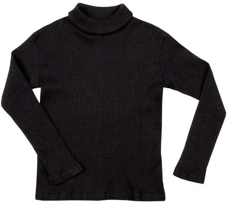 Turtleneck. Isolated on a white background.