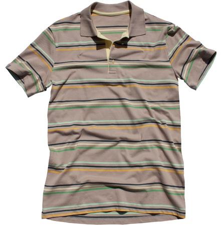 Polo shirt isolated white background Stock Photo - 20333801