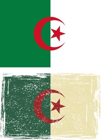 Algierski: Algierczyk grunge wektora