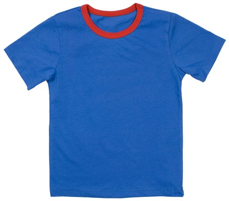 tee shirt: Child t-shirt isolated on a white background.