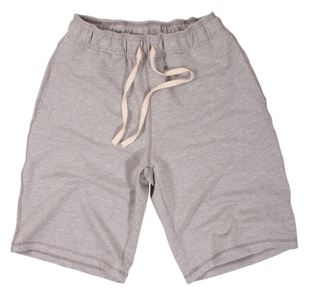 Sport shorts. Isolated on a white  photo