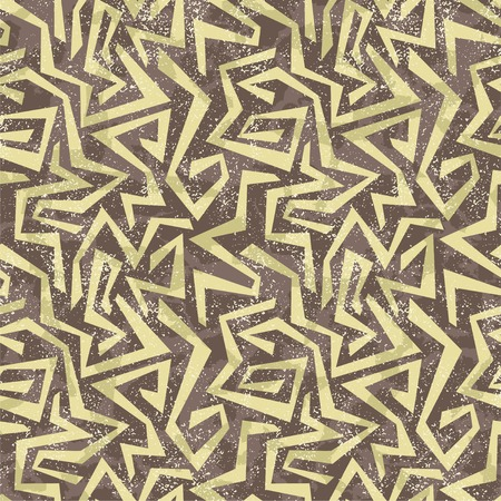 cleaned: Absract graffiti seamless pattern. Vector illustration. Grunge effect can be cleaned easily.
