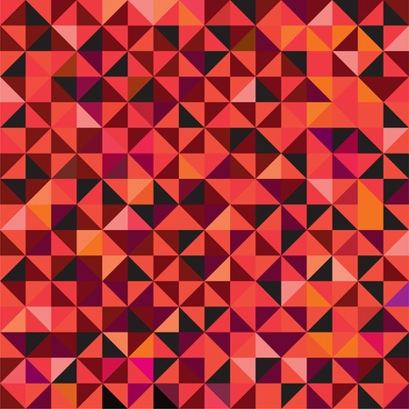 Seamless abstract triangle pattern background. Vector illustration. Vector