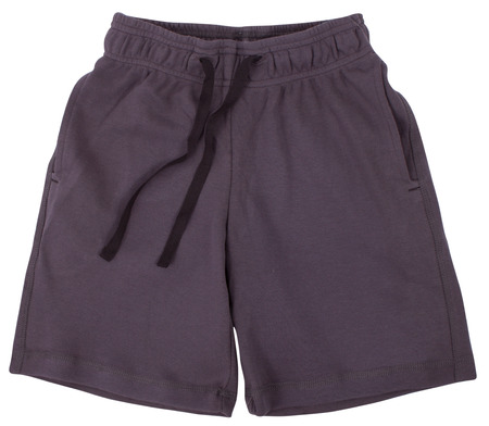 breathable: Pantaloncini sport isolato su sfondo bianco Archivio Fotografico