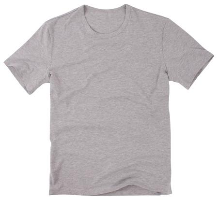 Men s t-shirt isolated on white background