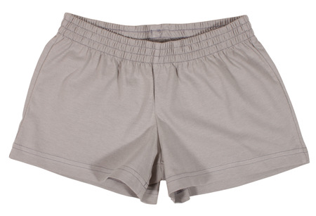 breathable: Sport shorts. Isolated on a white background. Stock Photo